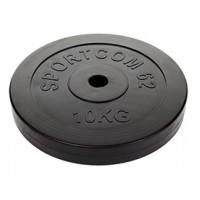 Диск обрезиненный 10 кг Ø26
