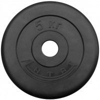 Диск обрезиненный 5 кг Ø26