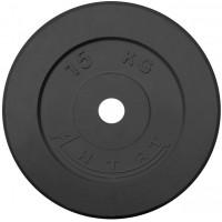 Диск обрезиненный 15 кг Ø26